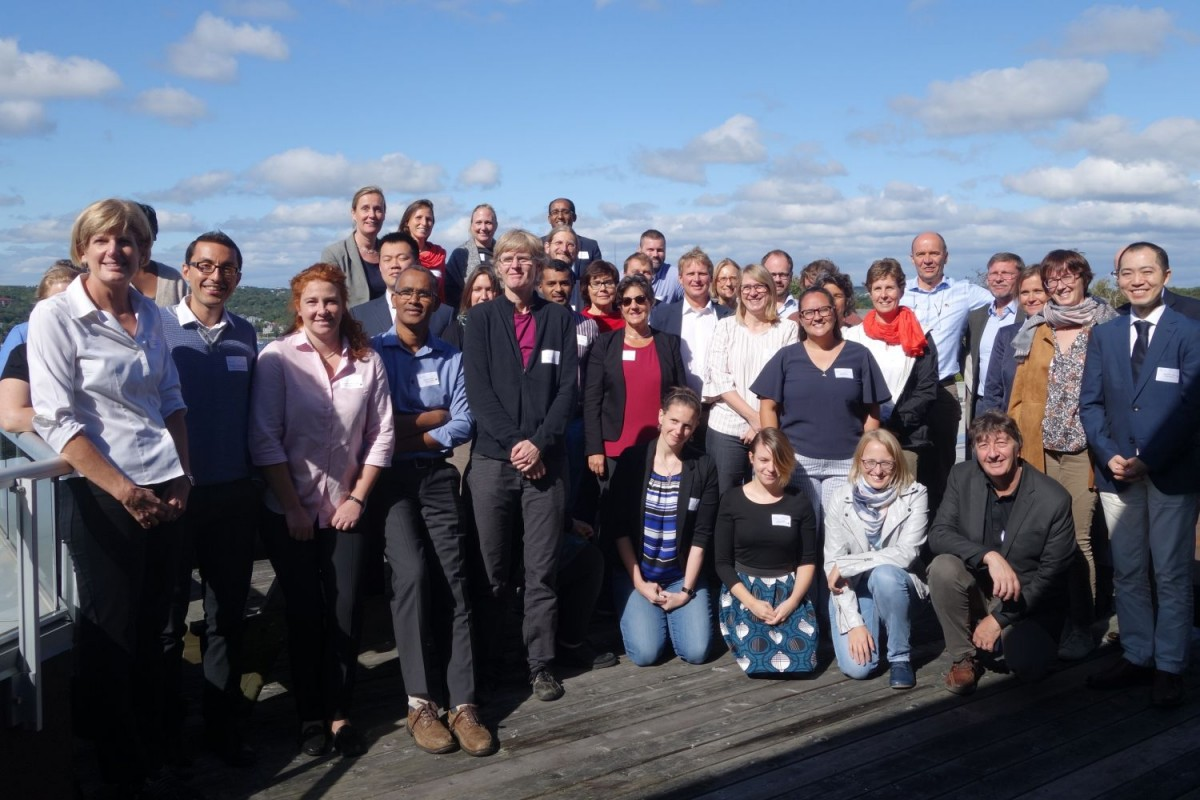 German-Canadian Research Alumni Conference in the Marine Sciences: More than 20 Kiel Research Alumni take the opportunity to exchange ideas with marine researchers currently conducting research in Kiel and Halifax. Photo: Wiebke Müller-Lupp, The Future Ocean